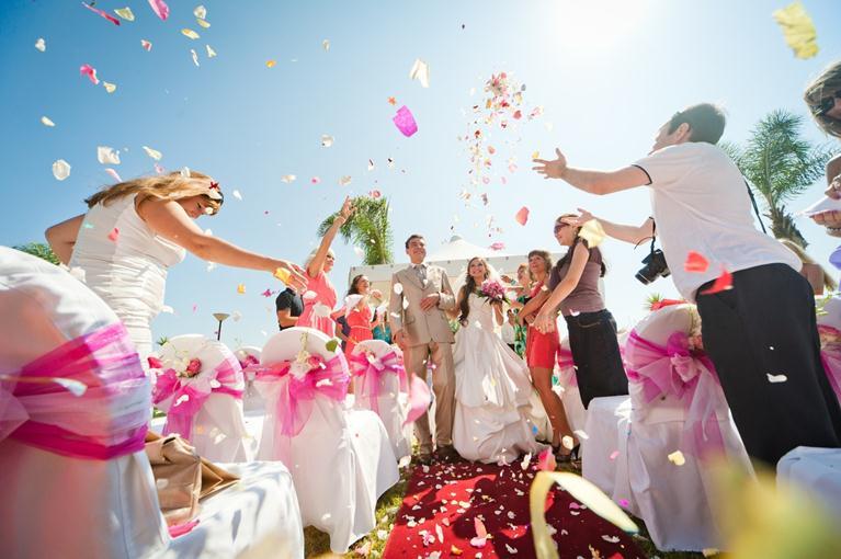 Сайт для проведение свадеб