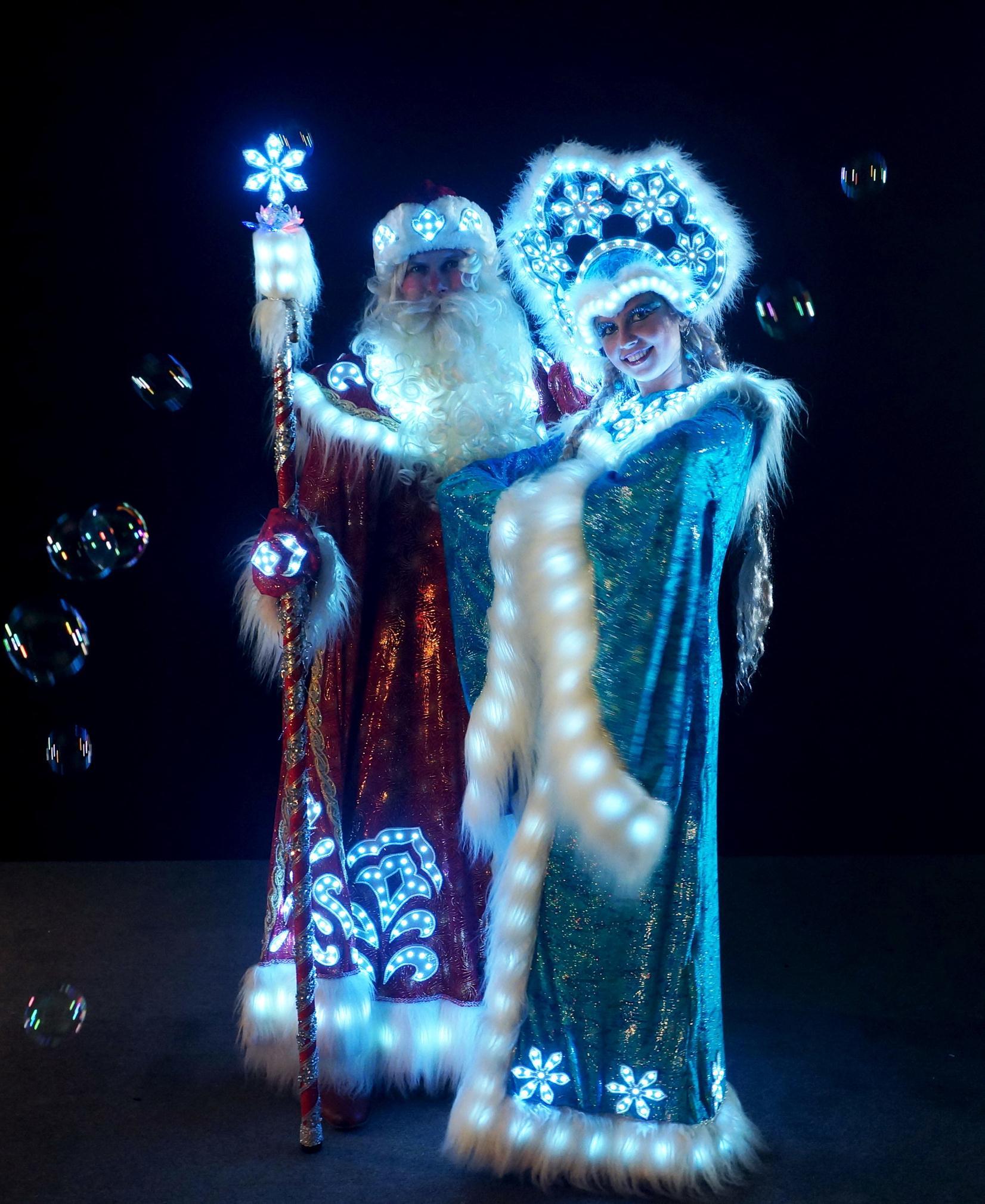 Шоу программы на новый год от деда мороза